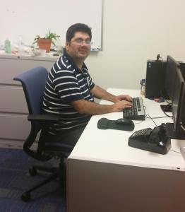 Rodney Ulibarri working hard for students.