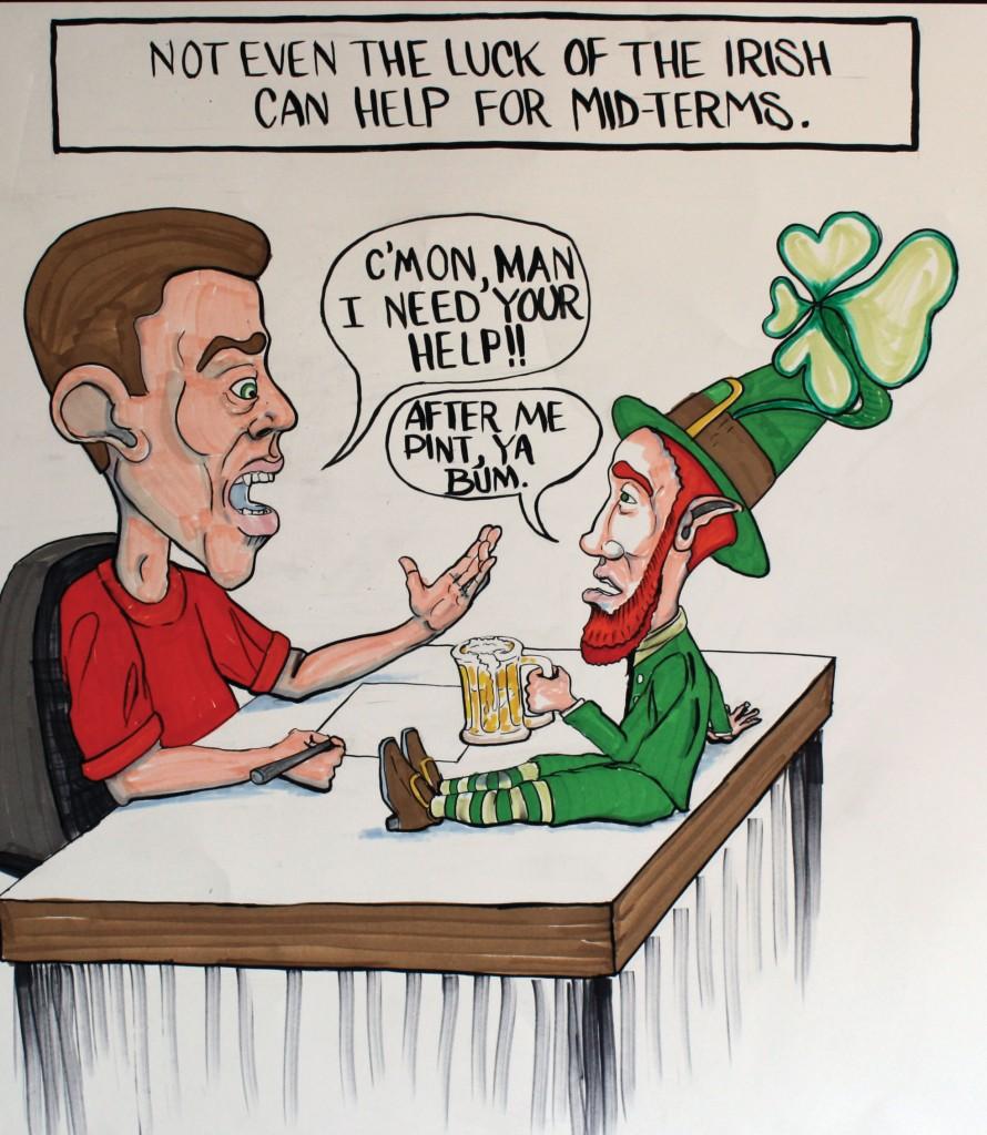 Cartoon St. Patricks