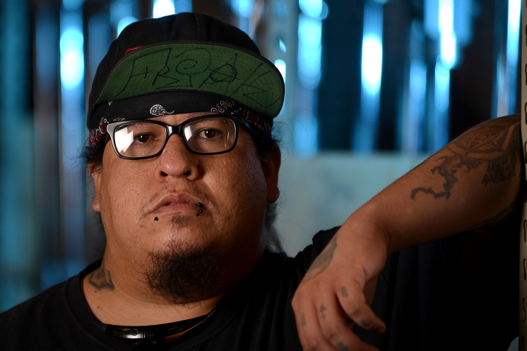 CNM Student Employee and Film Technician Student Fernando Bustillos is pursuing a career in the film industry as a Foley artist