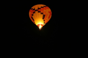 Dawn patrol balloons take off before the rest of the balloons to make sure the whether is safe for flying.