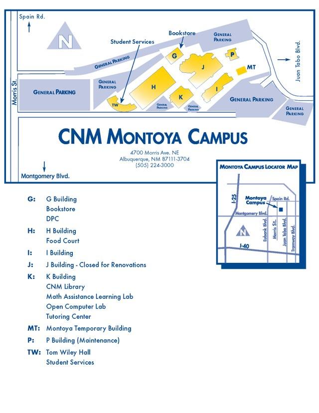 Cnm Montoya Campus Map World Map 07: Cnm Montoya Campus Map